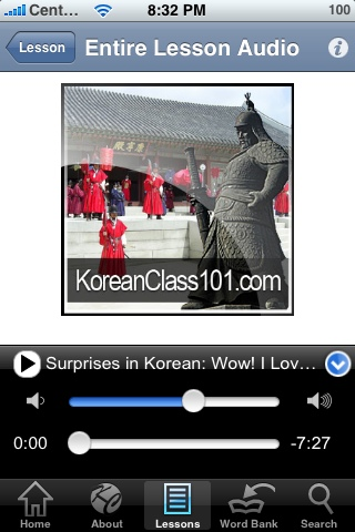 Learn Korean on your iPhone or iTouch